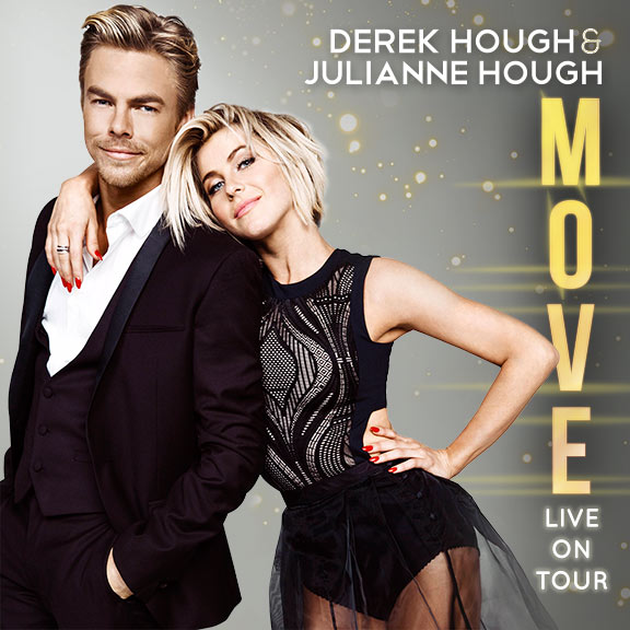 Move Live On Tour: Julianne & Derek Hough at Eccles Theater