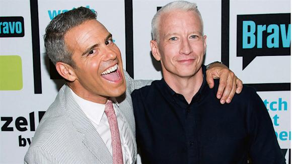 Anderson Cooper & Andy Cohen at Eccles Theater