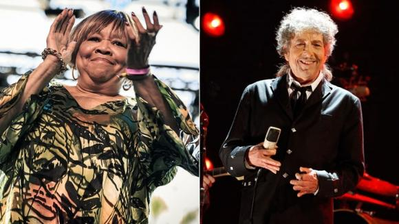 Bob Dylan & Mavis Staples at Eccles Theater
