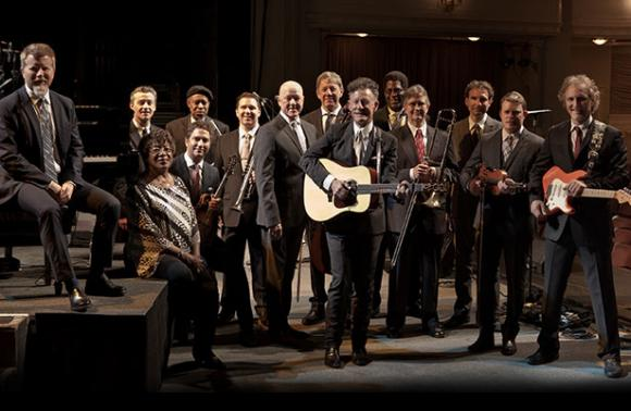 Lyle Lovett and His Large Band at Eccles Theater