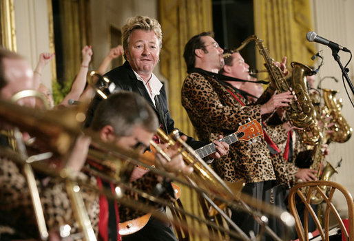 Brian Setzer Orchestra at Eccles Theater