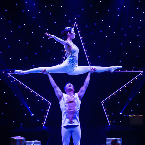 A Magical Cirque Christmas at Eccles Theater