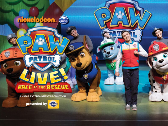 Paw Patrol Live at Eccles Theater