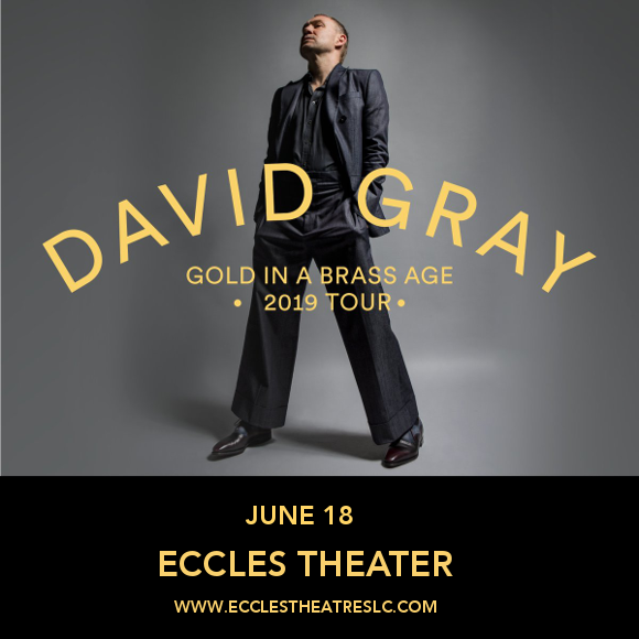 David Gray at Eccles Theater