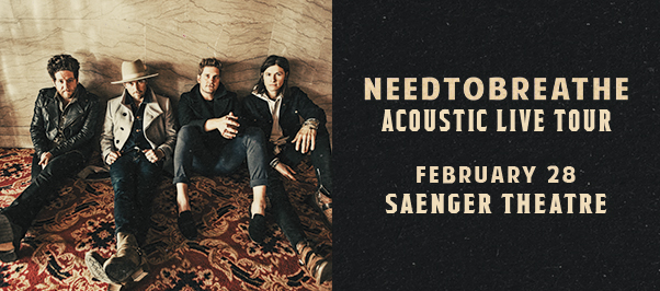 Needtobreathe at Eccles Theater