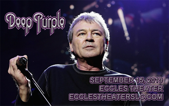 Deep Purple at Eccles Theater