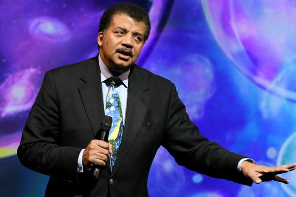 Neil deGrasse Tyson at Eccles Theater