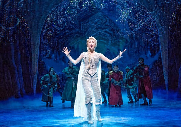 Frozen - The Musical at Eccles Theater