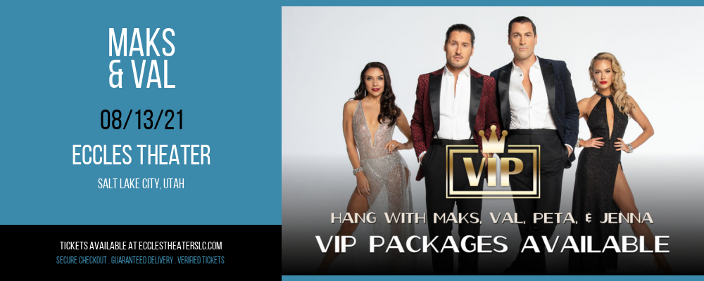 Maks & Val at Eccles Theater