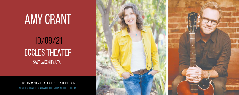 Amy Grant at Eccles Theater