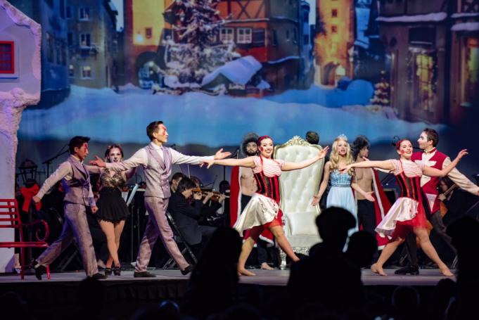 Cirque Musica Holiday Spectacular at Eccles Theater