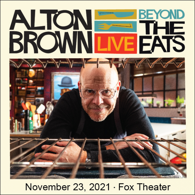 Alton Brown: Beyond The Eats at Eccles Theater